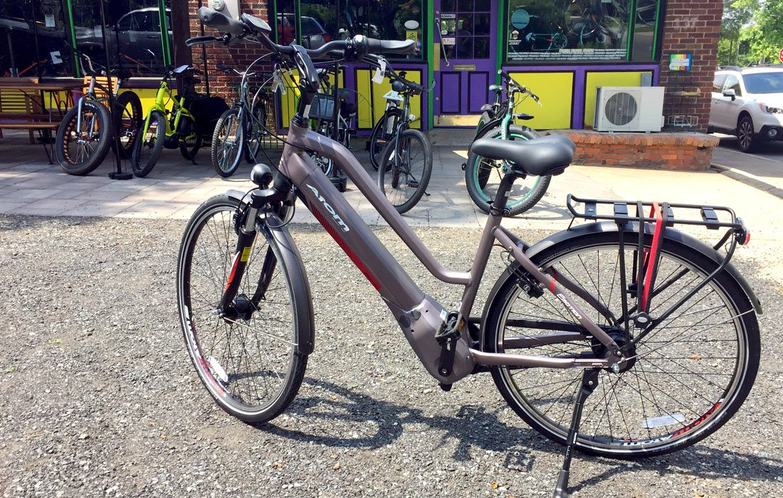 Mid-drive ebike electric bicycle
