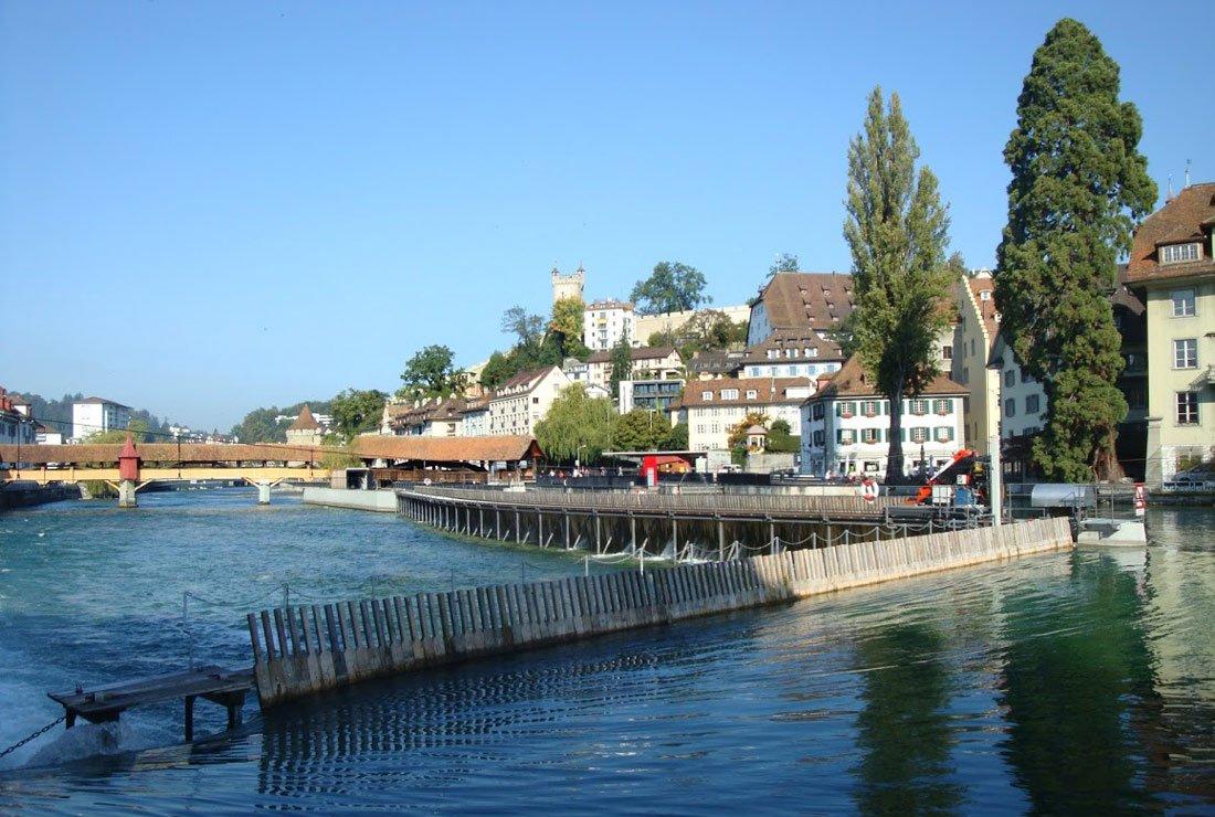 Lucerne Switzerland Europe Needle Dam