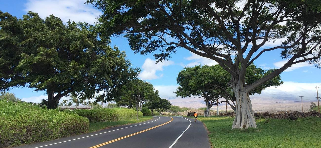 Biking Hawaii big island