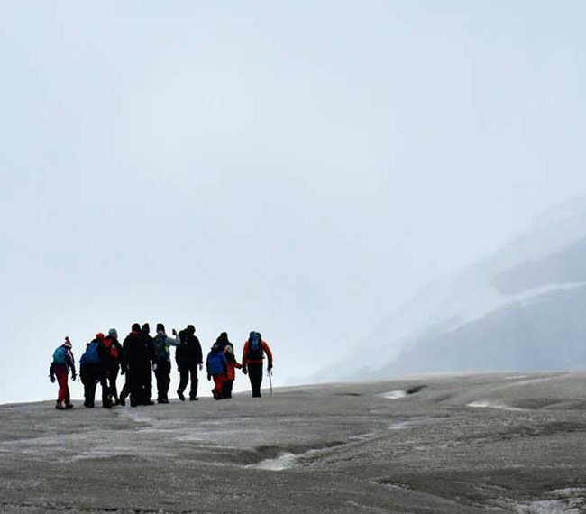 Athabasca Glacier hiking tour is worthy of your bucket list