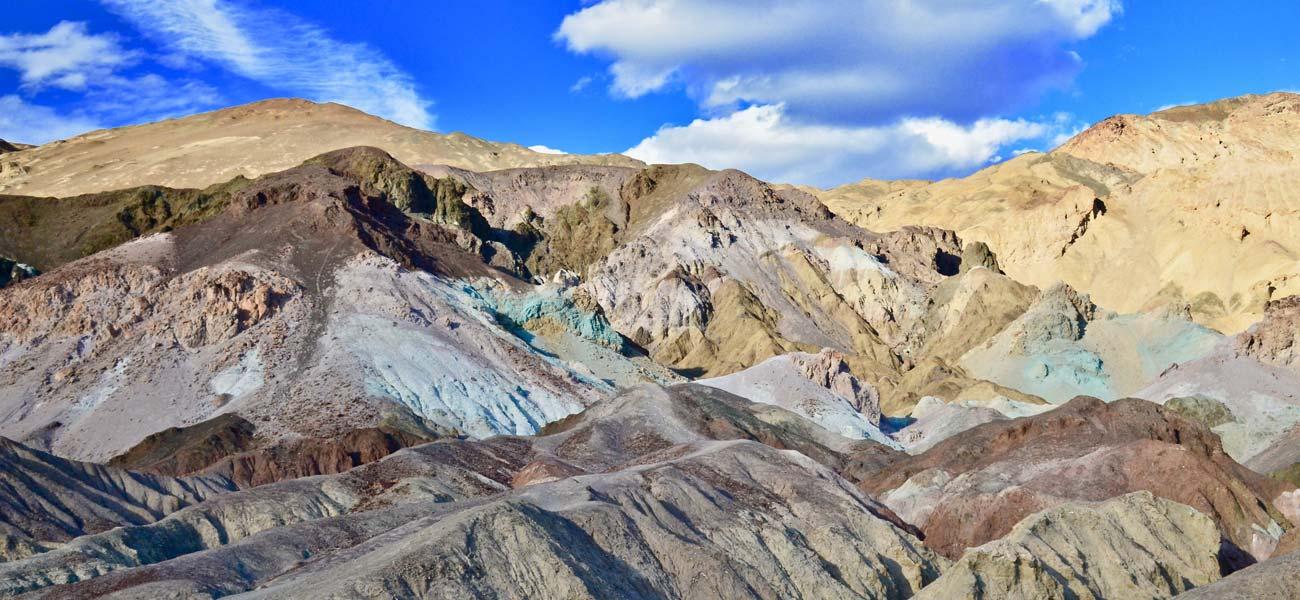 Death Valley Artists Palette Overlook