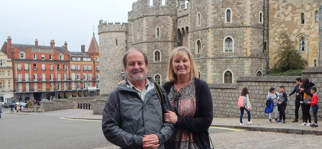 Windsor Castle host 2018 wedding of Prince Harry to Meghan Markle