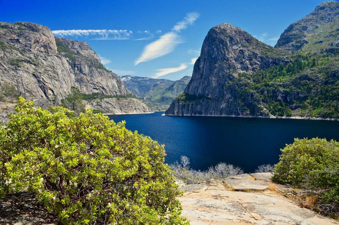 Fewer people visit Yosemite's Hetch Hetchy region