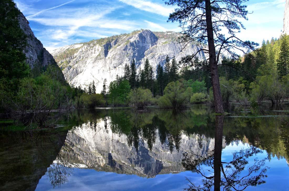 Yosemite's Mirror Lake in May