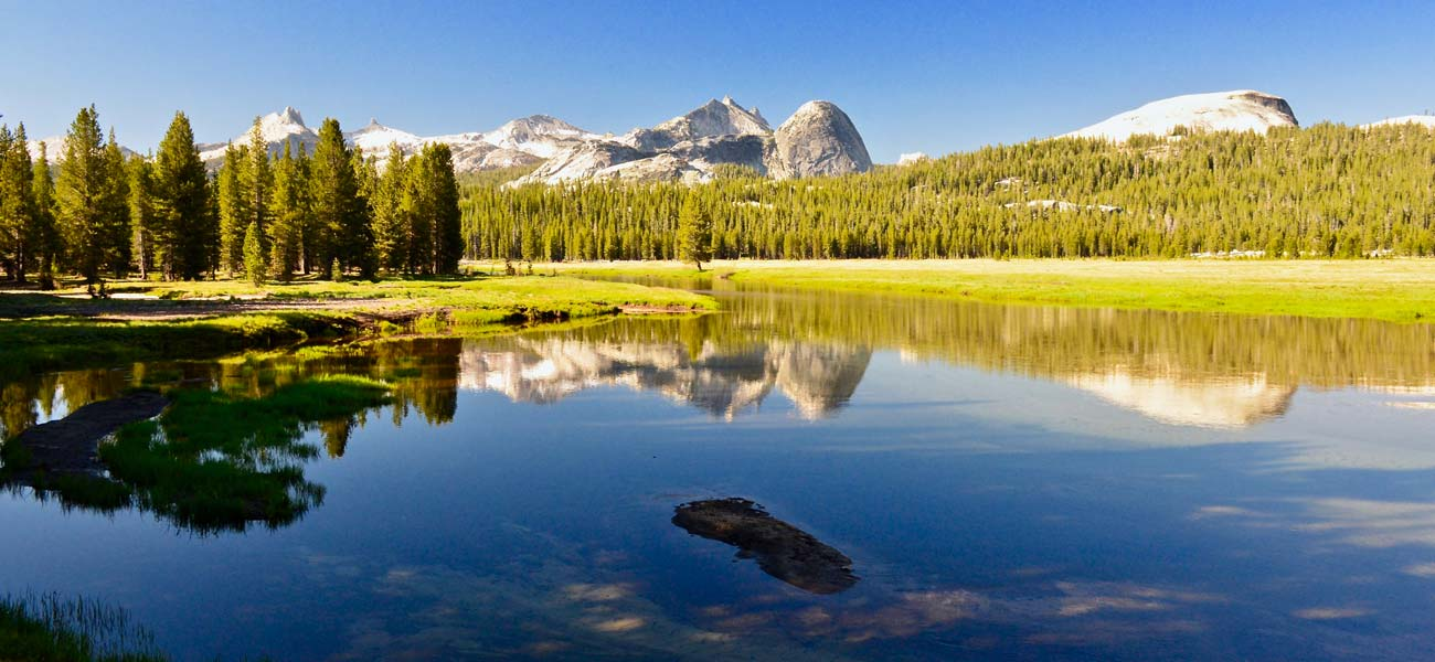 the Glen Aulin Trail in Yosemite's high country along Tioga Pass