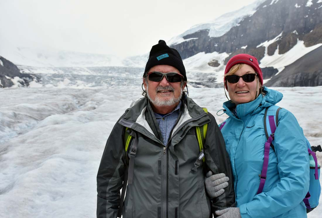 Athabasca Glacier Canada Icefields Parkway