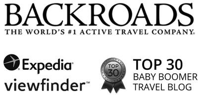 Backroads, Expedia viewfinder, Top 30 baby boomer travel blog