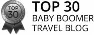 Top 30 Baby Boomer Travel Blog Award