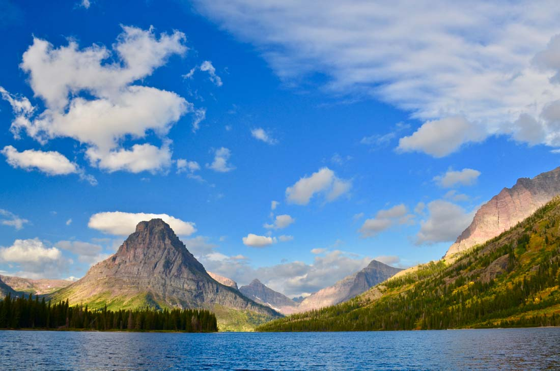 Glacier National Park Two Medicine Lake