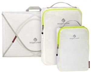 Eagle Creek packing cubes garment folder
