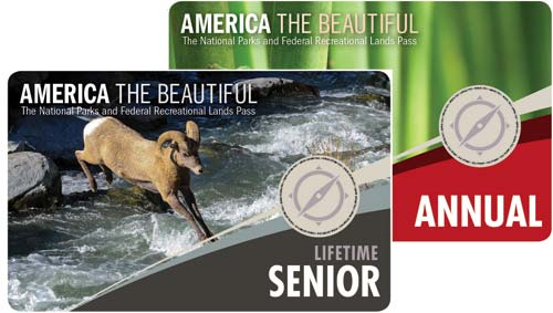 National Park Pass annual or lifetime for baby boomers