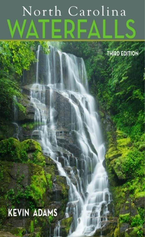 North Carolina waterfalls book great gift