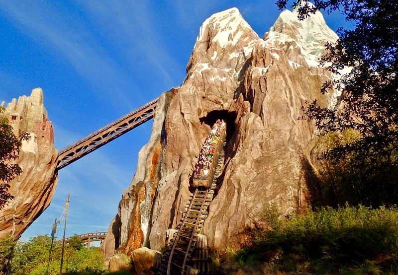 Disney Expedition Everest roller coaster
