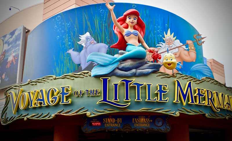 Disney Land FastPass Little Mermaid