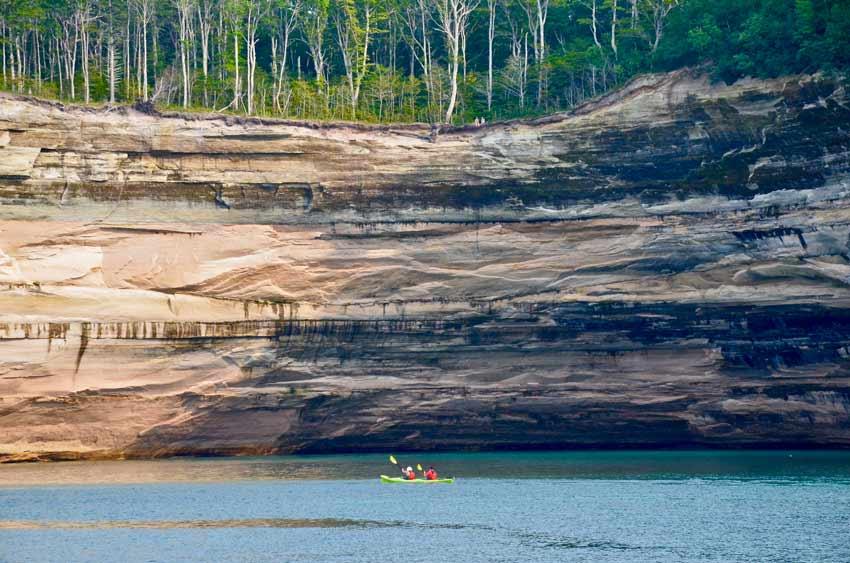 pictured rocks national seashore michigan