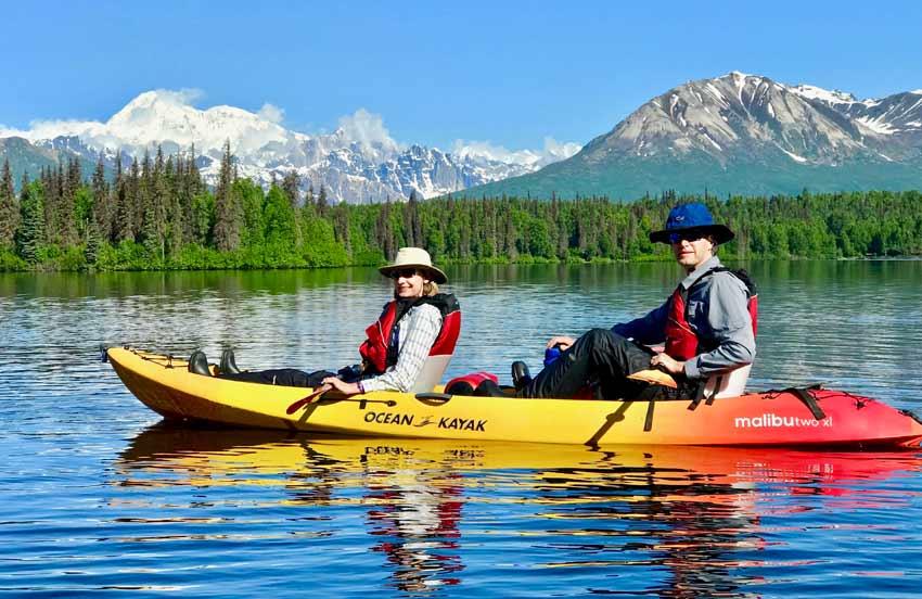 Denali Byers Lake kayak