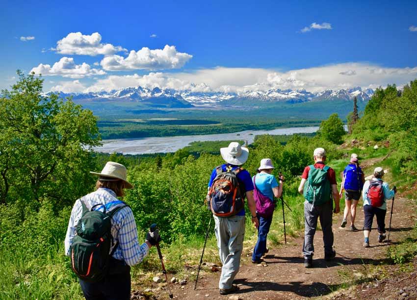 Alaska Denali hike