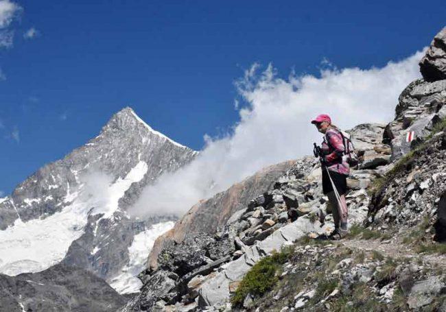 hiking swiss alps matterhorn