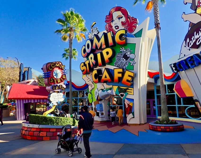 Universal Studios Comic Cafe