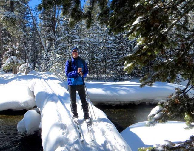 I wear sunscreen all year round, even during winter in Yellowstone National Park.