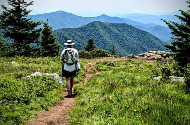 The trails are well maintained, though we recommend good hiking shoes and poles for steeper sections.