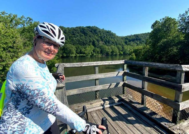 Plan to take the New River Trail slow, soaking in the sights and allowing time for photos.