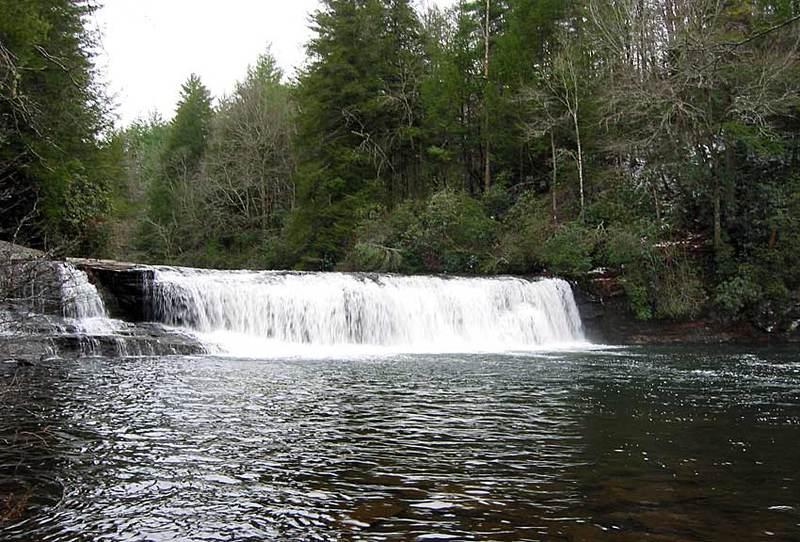 Dupont forest bike hike hooker falls
