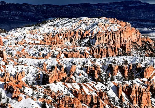 best winter hiking snow national park bryce canyon