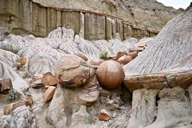 teddy roosevelt national park cannonballs geology